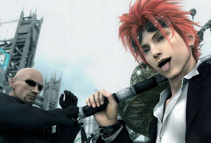 9. Final Fantasy VII: Advent Children - 2005