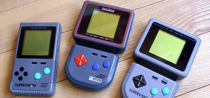 1. Watara Supervision (1992) - uno dei tanti rivali del Game Boy, poteva essere acquistato ad appena 50$.