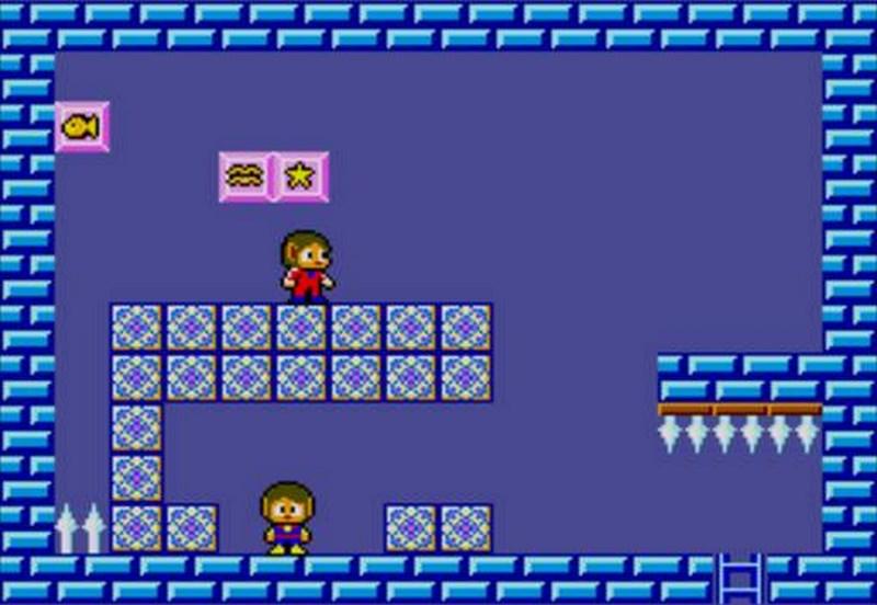 Alex Kidd in Miracle World - Sega Master System