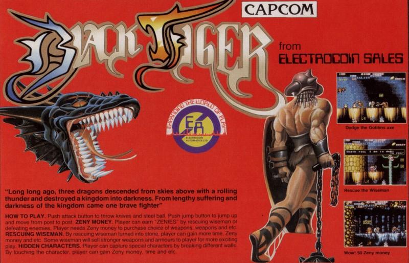 Black Tiger - Atari ST
