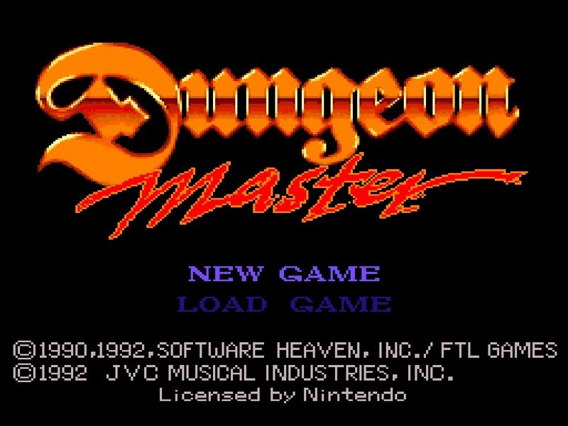 Dungeon Master - SNES