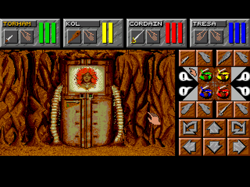 Dungeon Master - SNES