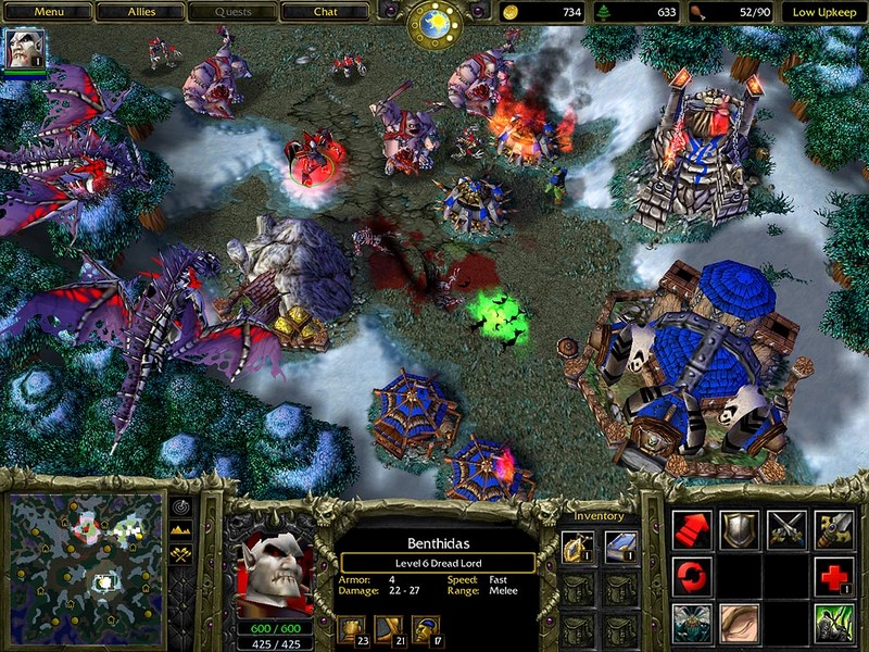 1. Warcraft III: Reign of Chaos