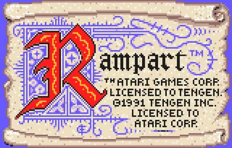 10. Rampart - Atari, 1990