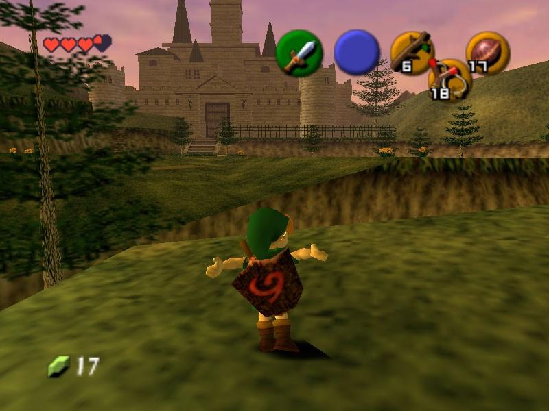 1. The Legend of Zelda Ocarina of Time