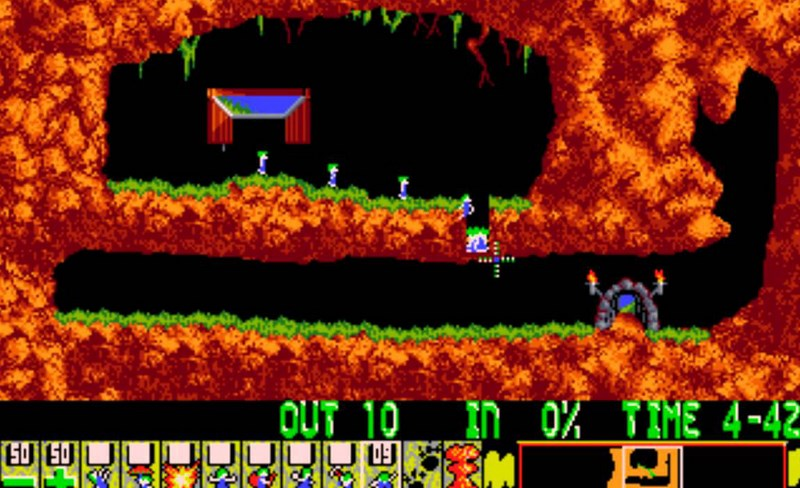 10. Lemmings