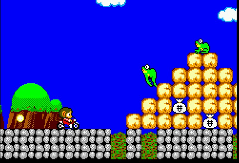 9. Alex Kidd In Miracle World