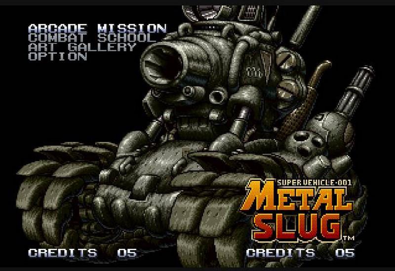 2. Metal Slug (SNK, 1997)
