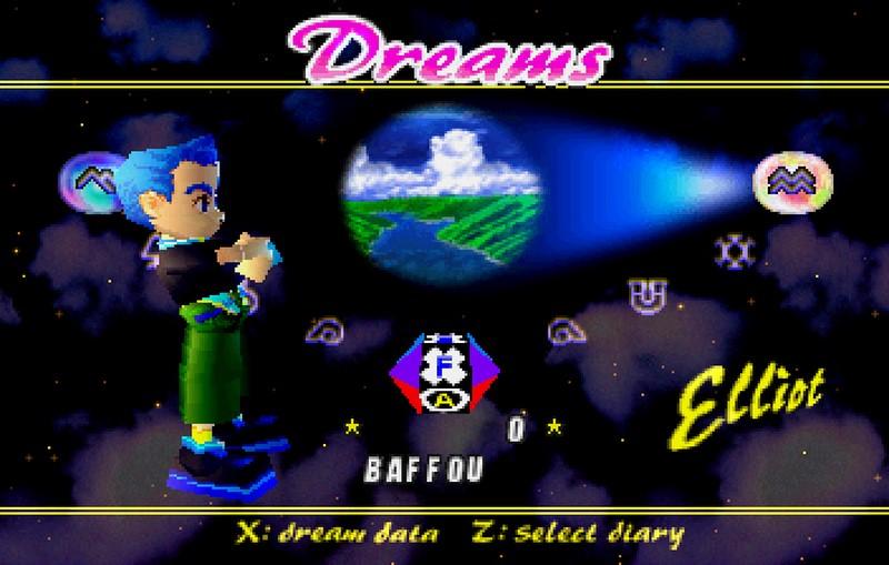 1. Nights Into Dreams (Sega, 1996)