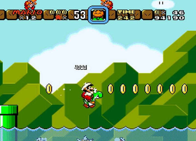 1. Super Mario World (1990)