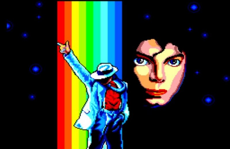 Michael Jackson's Moonwalker - Sega Mega Drive