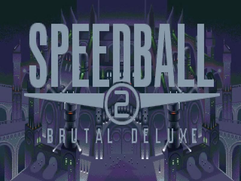 Speedball 2 Brutal Deluxe - Amiga