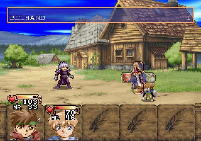 Albert Odyssey Legend of Eldean - Sega Saturn
