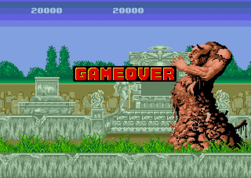 Altered Beast - Sega Mega Drive