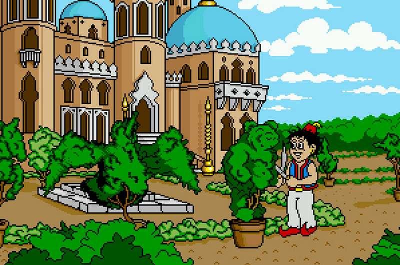Arabian Nights - Amiga