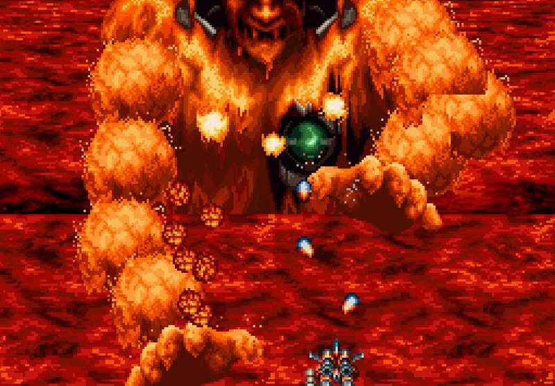 Axelay - SNES