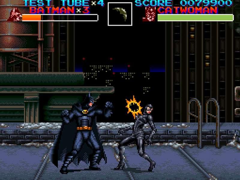 Batman Returns - SNES