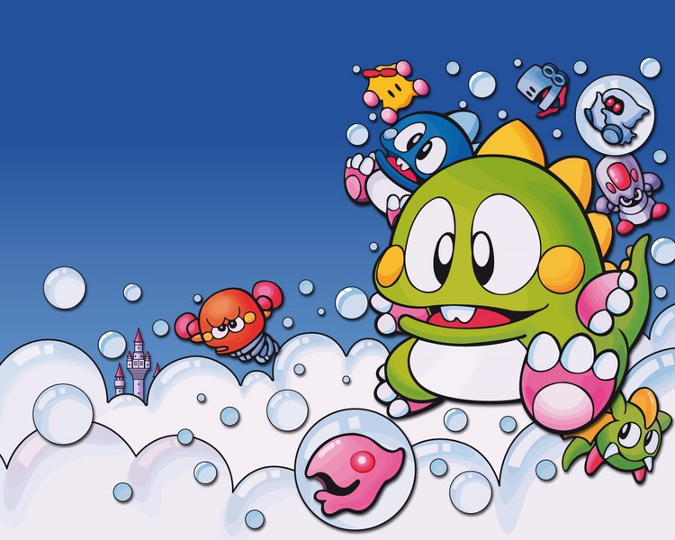 Bubble Bobble - Taito (1986)