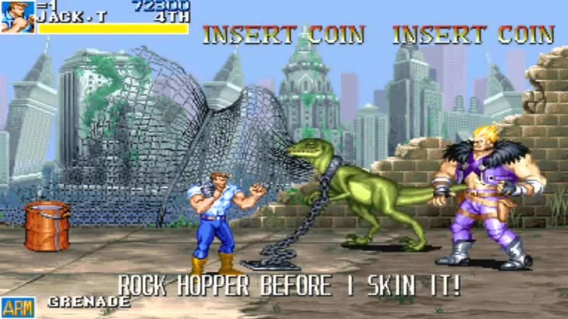 Cadillacs and Dinosaurs - Capcom 1993