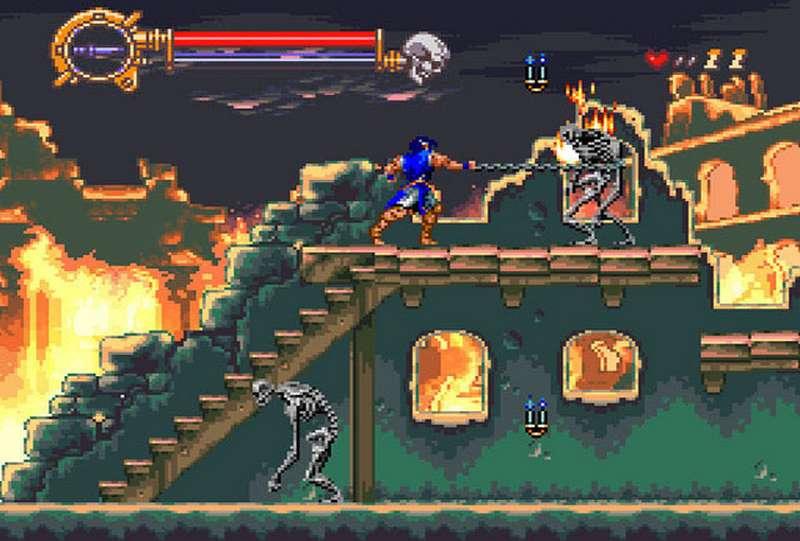 Castlevania Vampires Kiss - SNES
