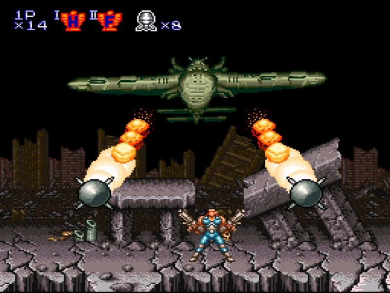 Contra III The Alien Wars - Konami