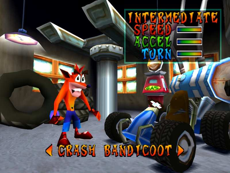 Crash Team Racing - PS1