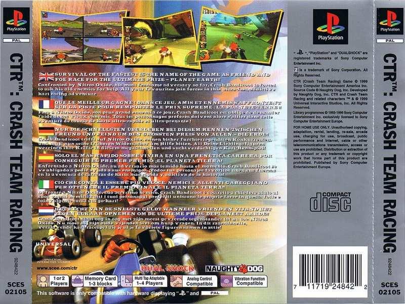 Crash Team Racing - PS1