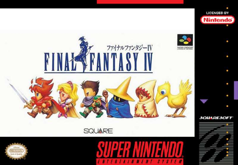 Final Fantasy IV - SNES