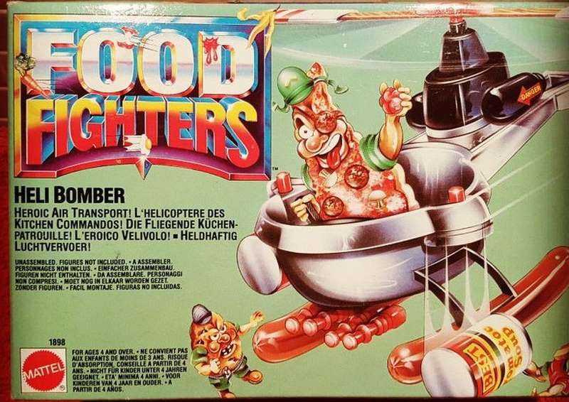 Food Fighters - Mattel