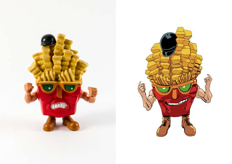 Food Fighters - Mattel