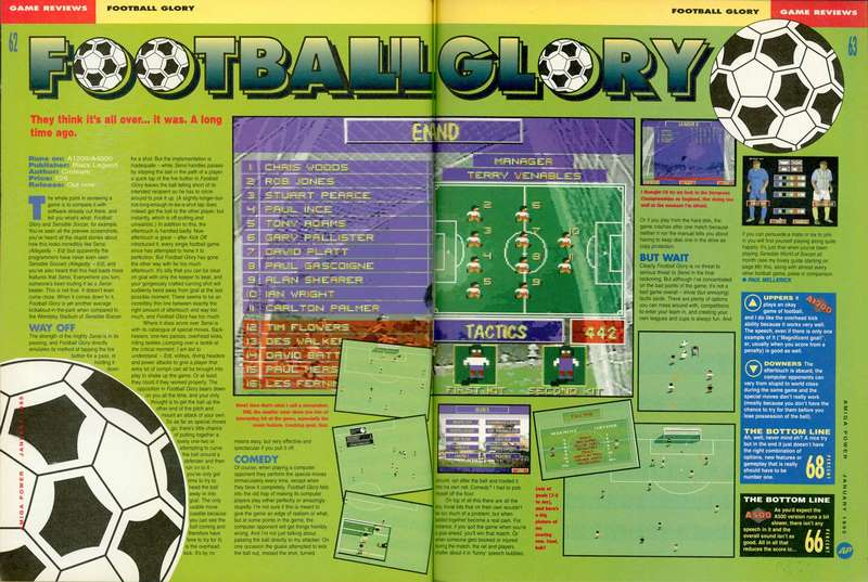 Football Glory - Amiga