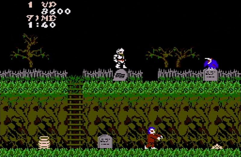 Ghosts n Goblins - NES