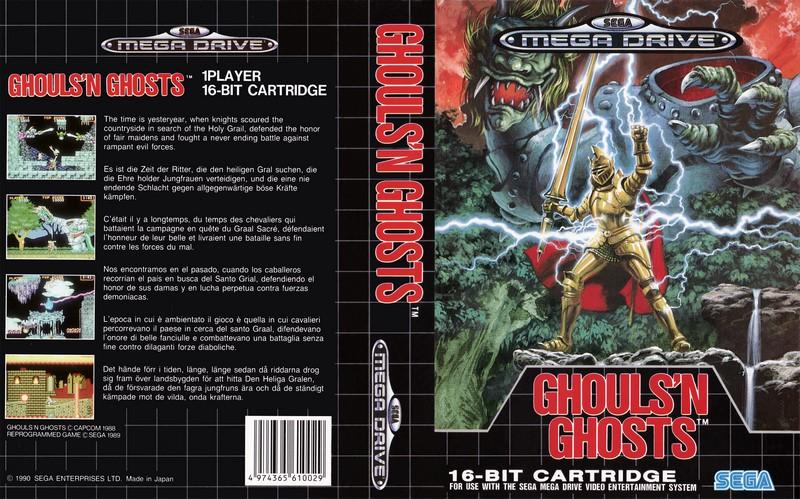Ghouls n Ghosts - Sega Mega Drive