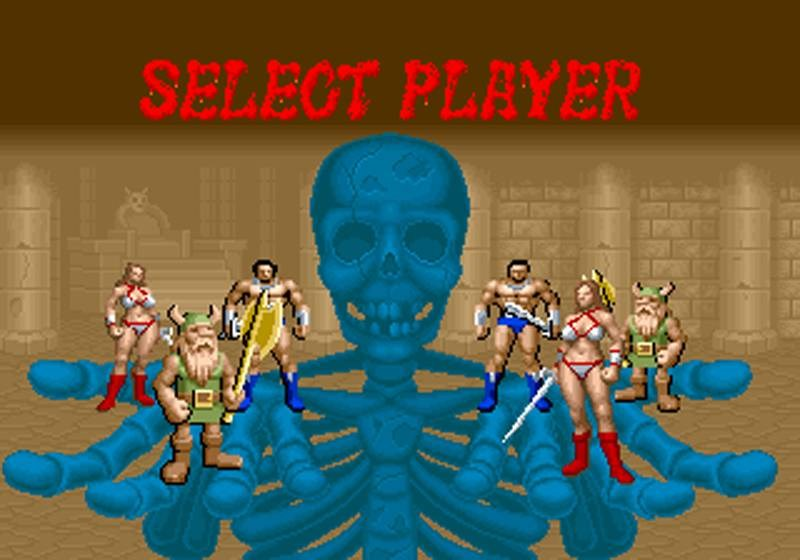 Golden Axe - Sega Mega Drive