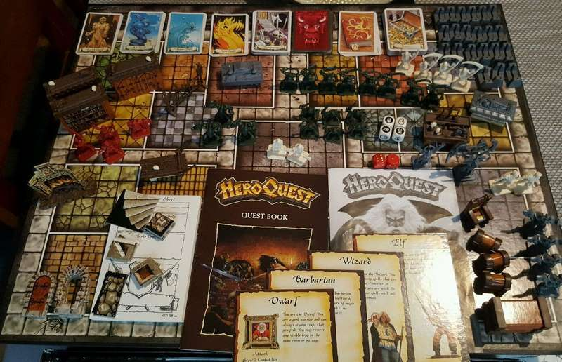 HeroQuest - MB Giochi