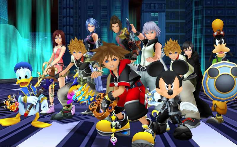 10. Kingdom Hearts 3D: Dream Drop Distance