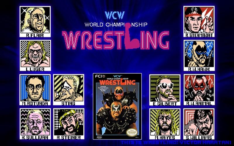 10. WCW Wrestling (NES - 1990)