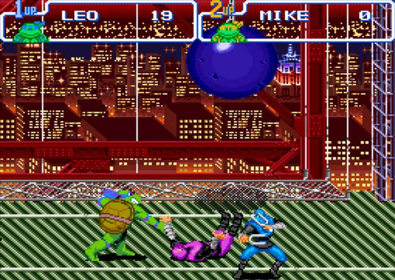 10. Teenage Mutant Ninja Turtles: Turtles in Time - 1991