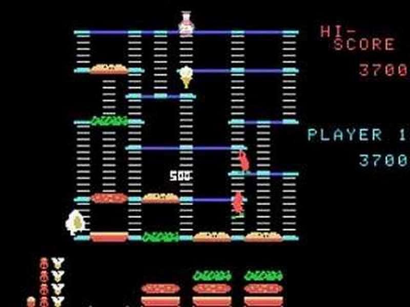 10. Burger Time - 1984