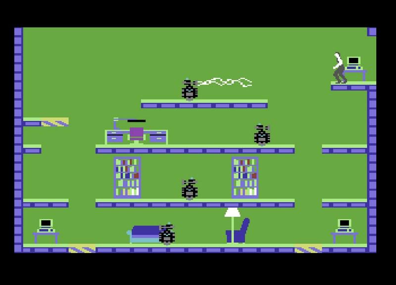9. Impossible Mission (Epyx, 1984)