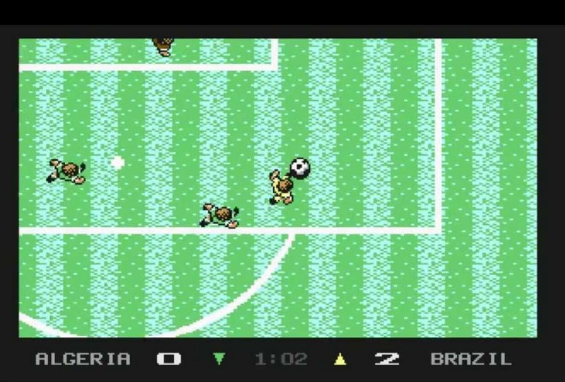 10. Microprose Soccer (Microprose, 1988)