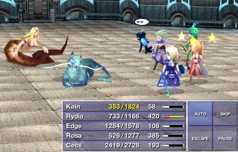10. Final Fantasy IV