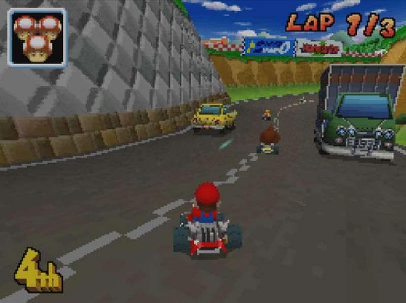 2. Mario Kart DS