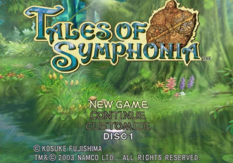 10. Tales of Symphonia