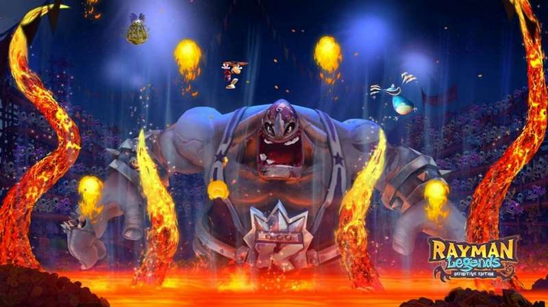 10. Rayman Legends: Definitive Edition