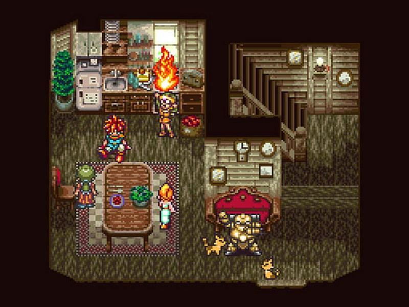 1. Chrono Trigger - Squaresoft