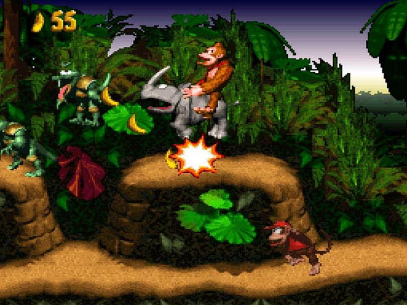 9. Donkey Kong Country - Nintendo/Rare