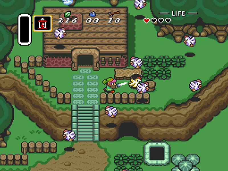 10. The Legend of Zelda: A Link to the Past - Nintendo