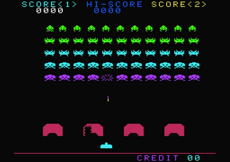 1. Space Invaders (1978)