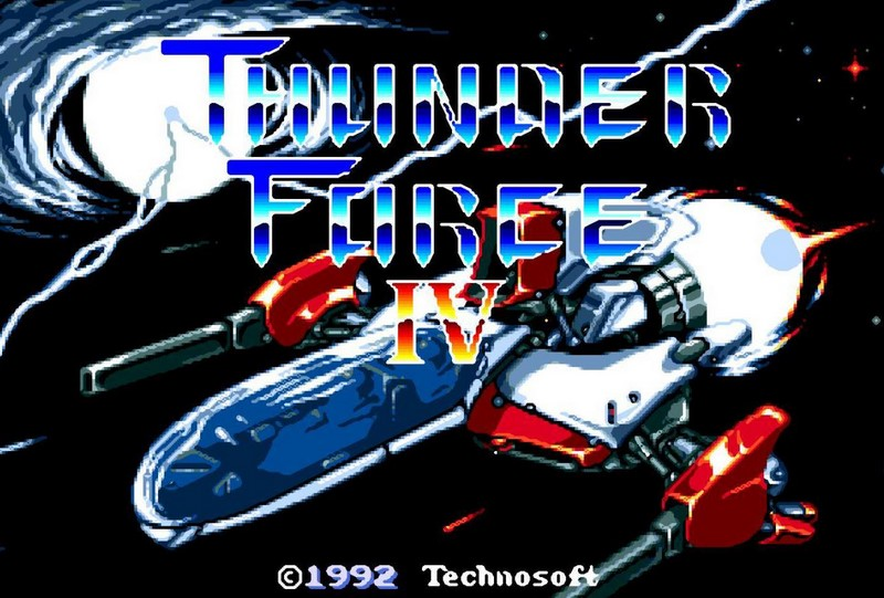 10. Thunder Force IV (1992)